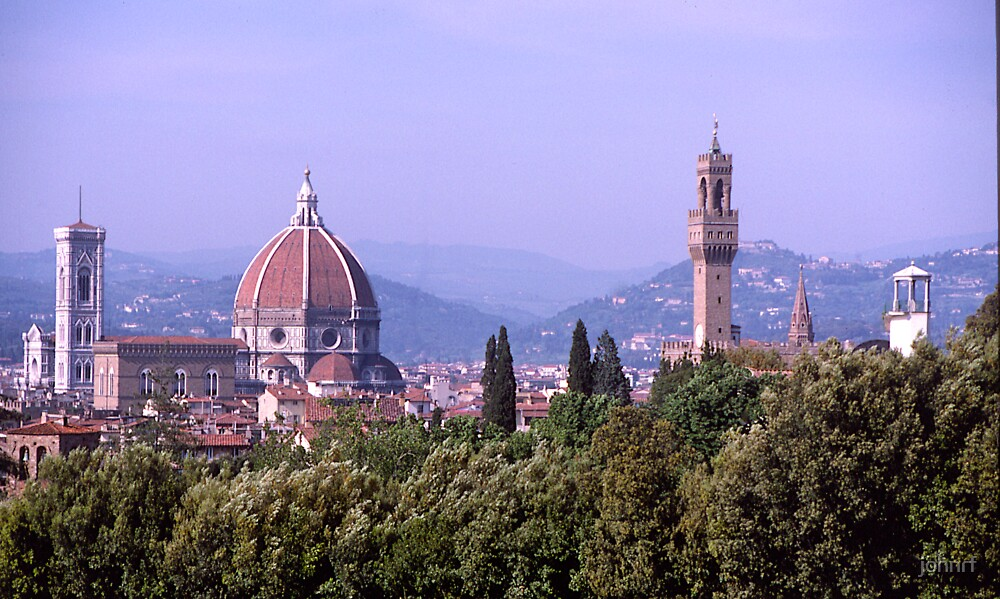 Florence  Skyline#2, Italy by johnrf
