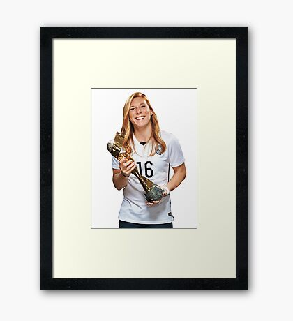 Lori Chalupny - World Cup Framed Print