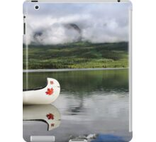 Maple Leaf Canoe Reflection iPad Case/Skin