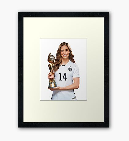Morgan Brian - World Cup Framed Print