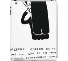 Mirror mirror... iPad Case/Skin
