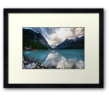 Lake Louise, Banff NP Framed Print
