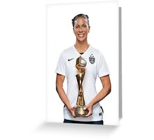 Shannon Boxx - World Cup  Greeting Card