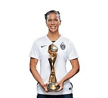 Shannon Boxx - World Cup  Photographic Print
