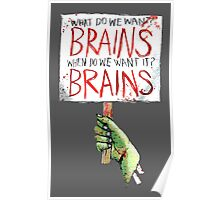 What do we want? BRAINS Poster