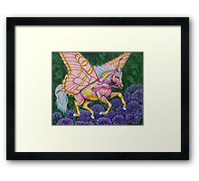 "Faery Horse ""Hope"" Framed Print"