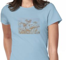 Hogweed - Almost Autumn - JUSTART © Womens Fitted T-Shirt