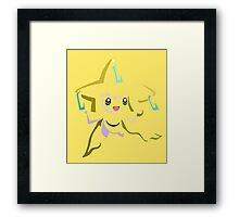 Jirachi (Tribal) Framed Print