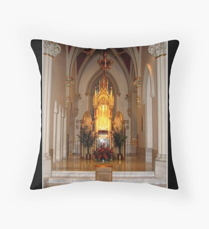 St. Joseph's Cathedral - Tabernacle Throw Pillow