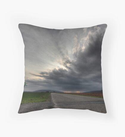 Ominous Throw Pillow