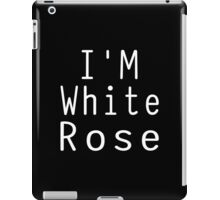 I Am White Rose (Mr.Robot) iPad Case/Skin