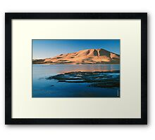 Laguna Colorada Framed Print