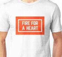fire for a heart watercolour Unisex T-Shirt