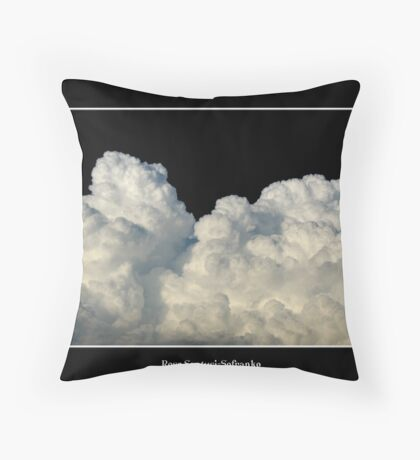 Clouds #1 Throw Pillow