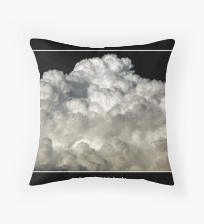 Clouds #3 Throw Pillow
