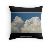 Clouds #4 Throw Pillow