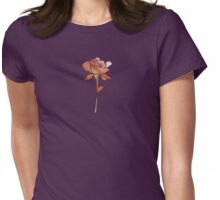 Floral Abstract II - JUSTART ©  Womens Fitted T-Shirt