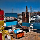 Dockside in St. Tropez by InterfaceImages