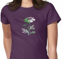 Floral Abstract I - JUSTART ©  Womens Fitted T-Shirt