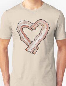 Bacon love Unisex T-Shirt