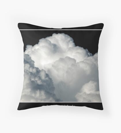 Cloud #6 Throw Pillow