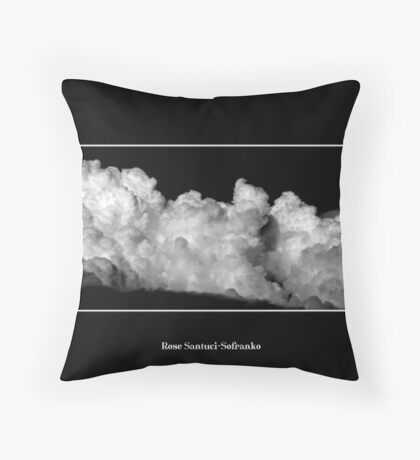 Cloud #7 Throw Pillow