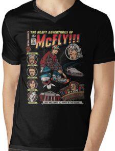 Heavy Adventures Mens V-Neck T-Shirt