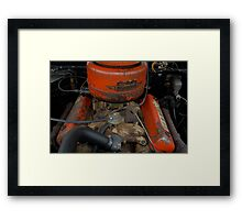 Major Patina Framed Print