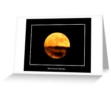 The Moon #1 Greeting Card