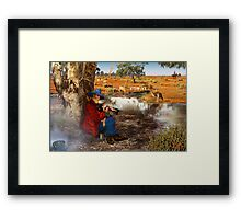 Waltzing Matilda Without the Words Framed Print