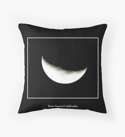 The Moon #3 Throw Pillow