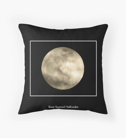The Moon #4 Throw Pillow