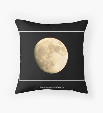 The Moon #5 Throw Pillow
