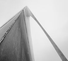 St. Louis Gateway Arch by emptynetmedia