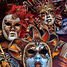 Venetian Carnavale Masks by InterfaceImages