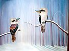 Kookaburra Connection  by © Linda Callaghan