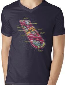 Hover Board Anatomy Mens V-Neck T-Shirt