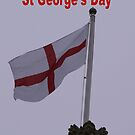 Happy St. George's Day by Dawn B Davies-McIninch