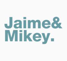 Jaime & Mikey Run The Jewels One Piece - Long Sleeve