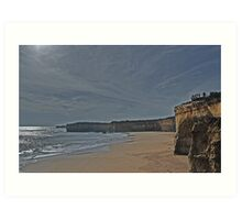 Great Ocean Road Cliffs Art Print