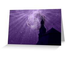 Starry Night - JUSTART © Greeting Card