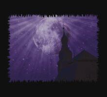 Starry Night - JUSTART © One Piece - Short Sleeve
