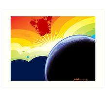 """Betelgeuse Visiting"" Art Print"