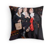 The Nuns Throw Pillow
