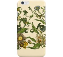 Botanical Pug iPhone Case/Skin