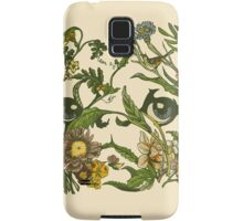 Botanical Pug Samsung Galaxy Case/Skin