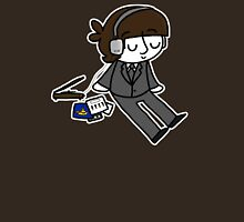 Ringo Listening to Music  Unisex T-Shirt
