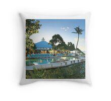 Heron Island Throw Pillow
