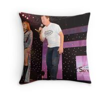 Russell & Susie Q Throw Pillow