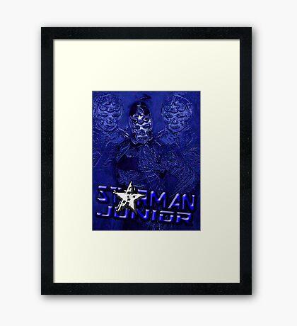 Starman Jr. - Professional Superhero Framed Print